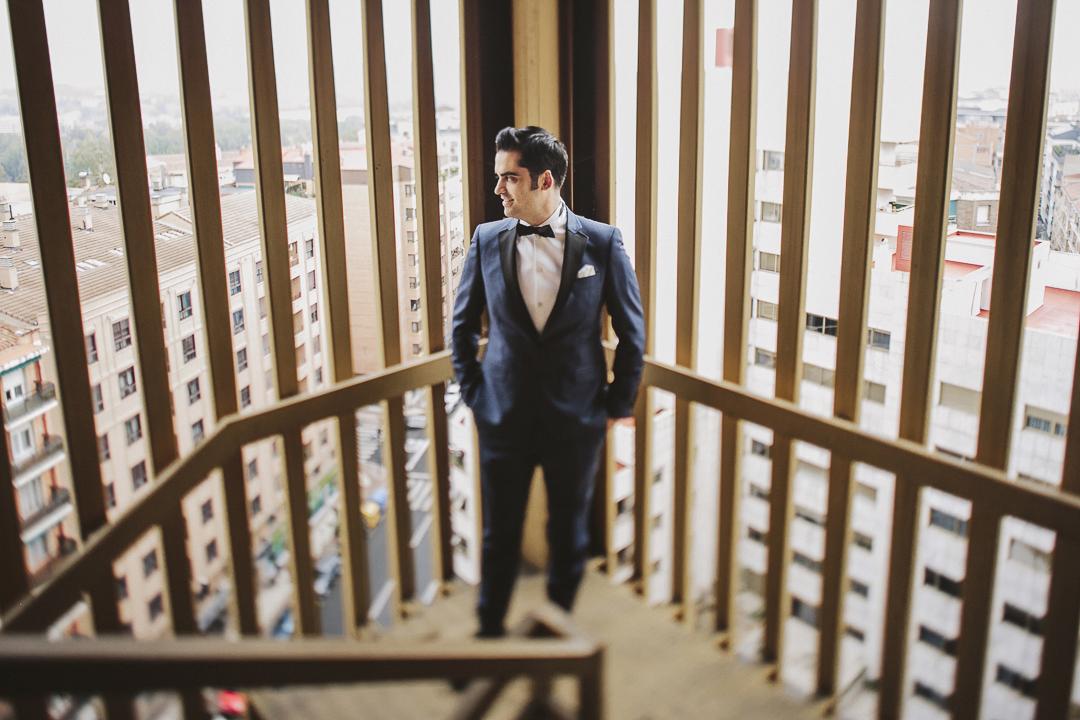 protocolo bodas esmoquin azul
